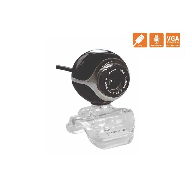 Webcam con Microfono Techmade TM-C011