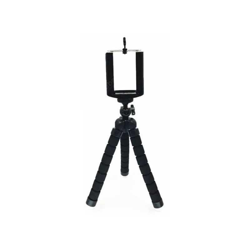 Treppiede Universale Compatto con Supporto Flessibile per Fotocamera Digitale / Smartphone