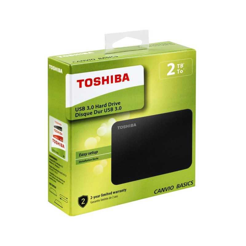 TOSHIBA Canvio Basics 2TB Hard-Disk Esterno/Portatile
