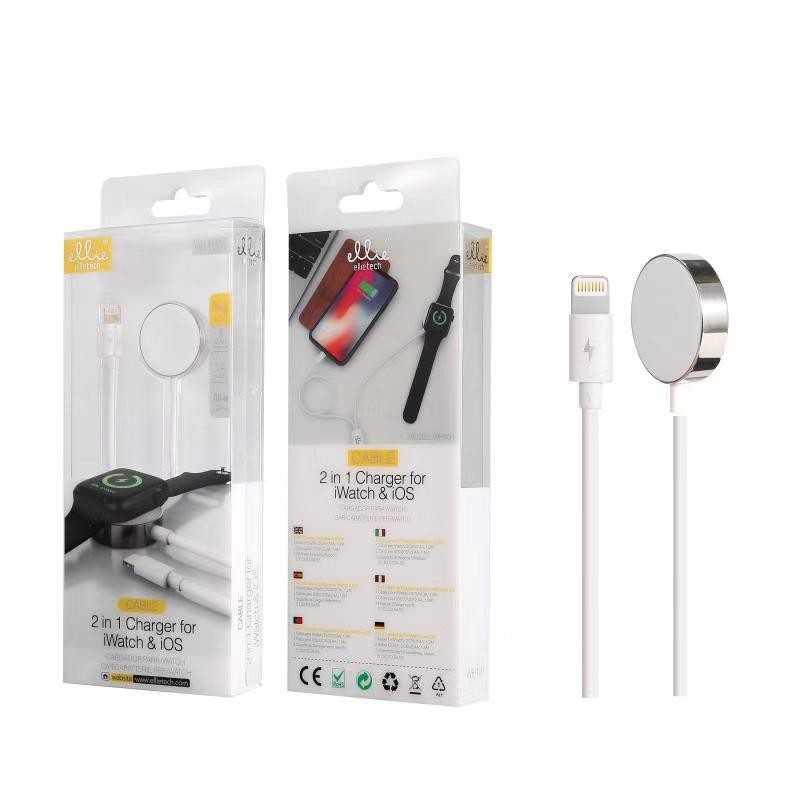 Caricabatterie ELLIETECH WH101 per iWatch e iPhone