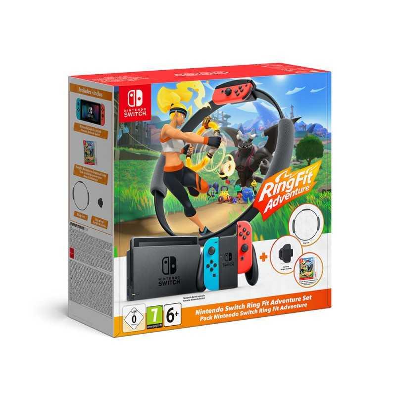 Nintendo Switch + Ring Fit Adventure Bundle