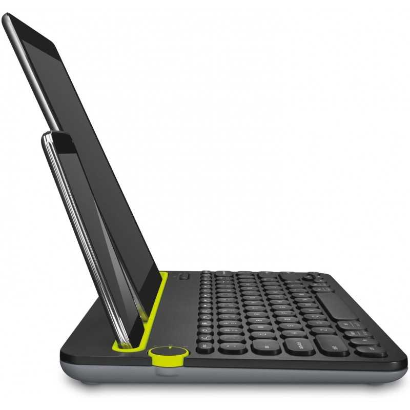 LOGITECH K480 Tastiera Wireless Multidispositivo per Windows, Apple iOS, Android o Chrome