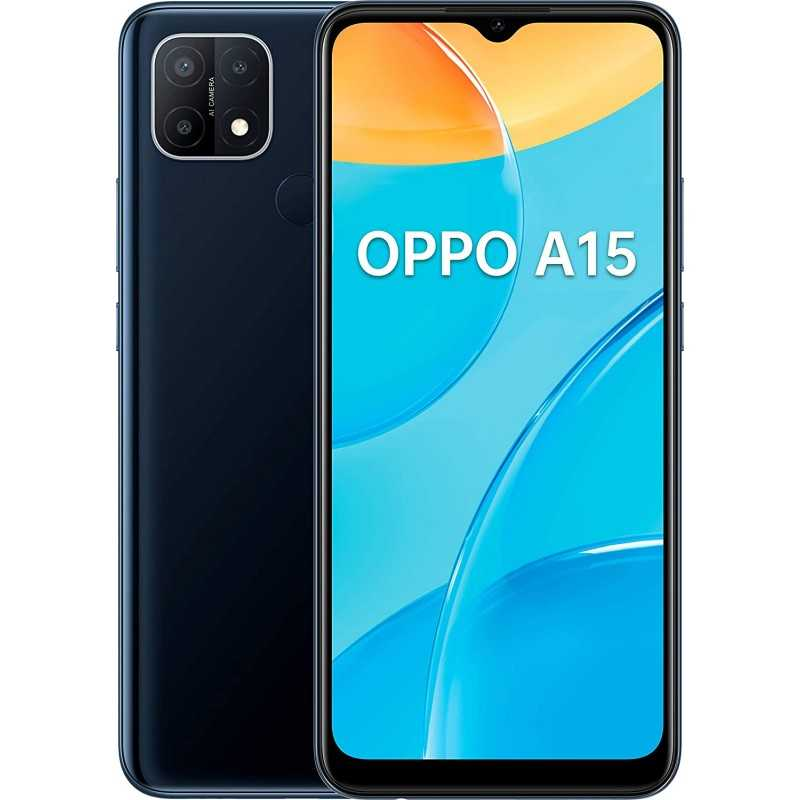 OPPO A15 3+32GB BLACK