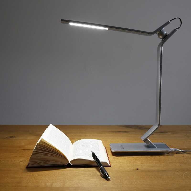EXTRASTAR Lampada da Tavolo a LED con Ricarica USB