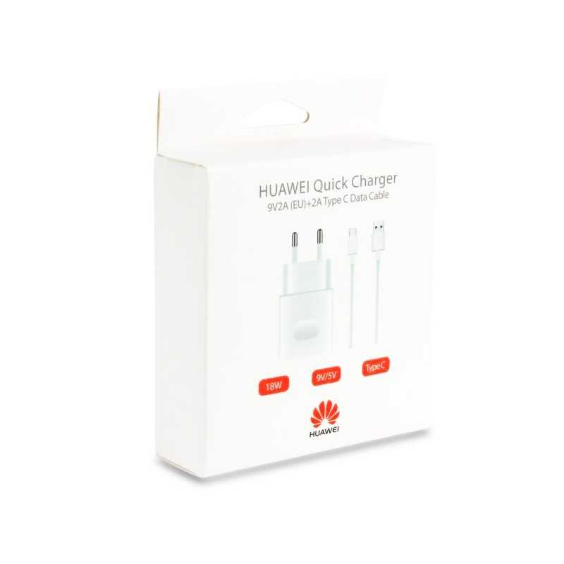 Huawei Quick-charge caricatore 2A, cavo Type-C incluso