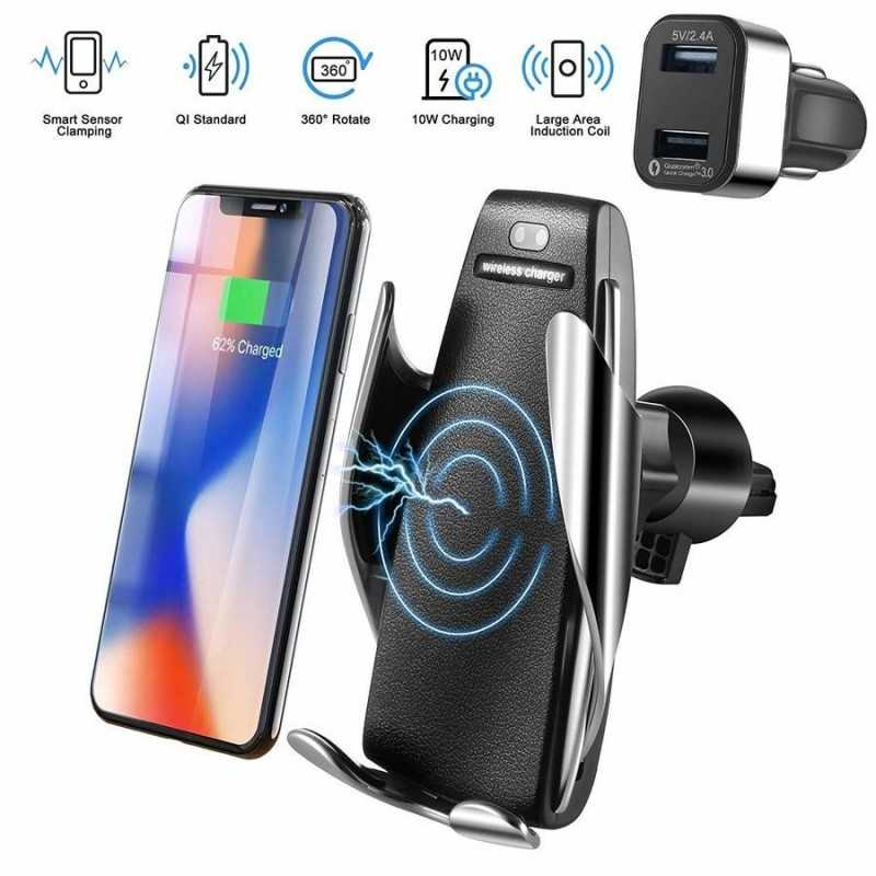 Supporto Auto Wireless Charger
