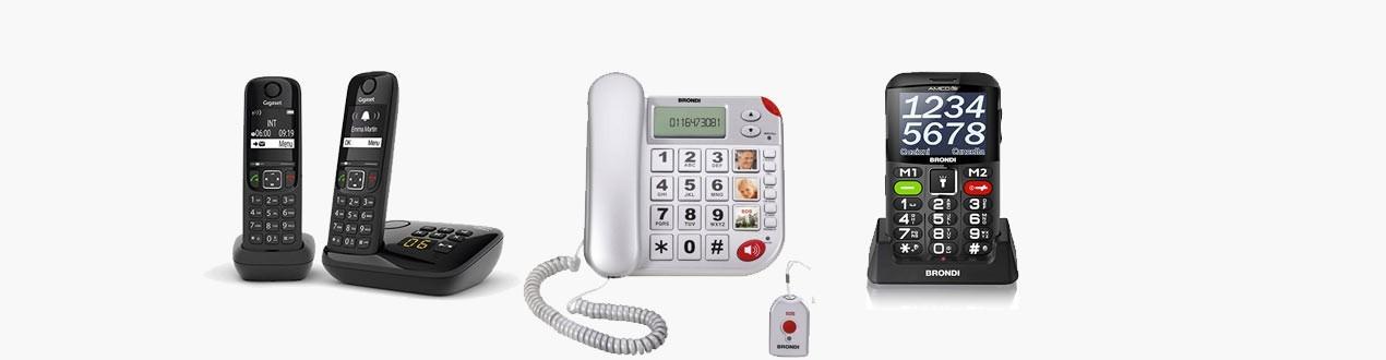 TELEFONIA FISSA E CELLULARI PER ANZIANI